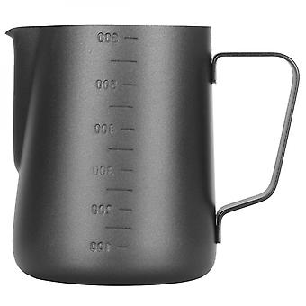 Frothing Cup Pitcher With Dual Scales Thicken Coffee Latte