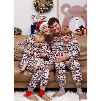 Familie Matching Frauen Männer Kinder Weihnachtspyjamas Weihnachten Nachtwäsche Pyjamas Pjs Sets