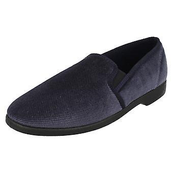 Mens Burdale Footwear Comfortable House Slippers 101219