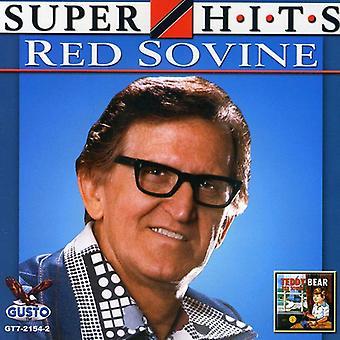 Red Sovine - Super Hits [CD] USA import