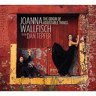 Wallfisch, Joanna with Dan Tepfer - The Origin of Adjustable Things [CD] USA import
