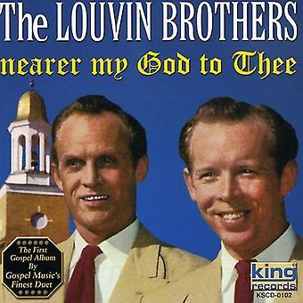 Louvin Brothers - vicino mio Dio di importazione USA te [CD]
