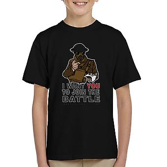Join The Fight Kid's T-Shirt