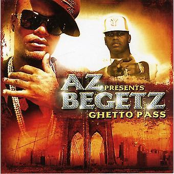 AZ presentes Begetz - gueto Pass [CD] EUA importar