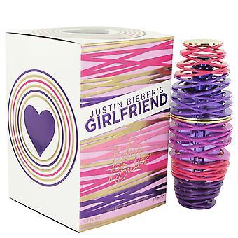Justin Bieber Girlfriend Eau de Parfum 50ml EDP Spray