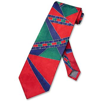 Antonio Ricci SILK NeckTie Made in ITALY Geometric Design Men's Neck Tie #5115-2