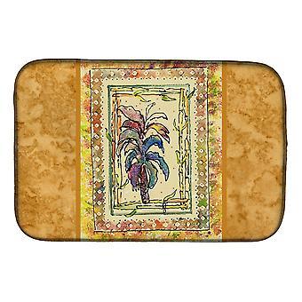 Carolines trésors 8615DDM Palm Tree plat Mat de séchage