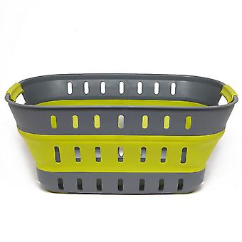 Nuovo Outwell Camping Furniture Storage Collaps Basket Verde