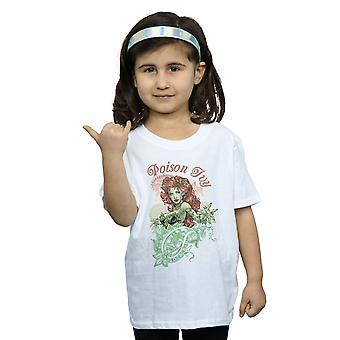 DC Comics Girls Poison Ivy Paisley T-Shirt