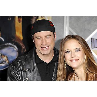 John Travolta Kelly Preston At Arrivals For World Premiere Of Wild Hogs El Capitan Theatre Los Angeles Ca February 27 2007 Photo By Michael GermanaEverett Collection Celebrity