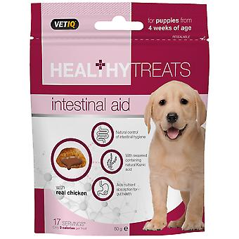 Mark & Chappell Snacks Intestinal Aid Treats For Puppies 50Gr (Cani , Snack , Biscotti)