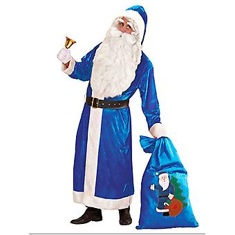 Santa velours luxe Blue Coat