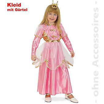Prinzessin Kostüm Kinder Pink Prinzessinkleid Königin Kinderkostüm