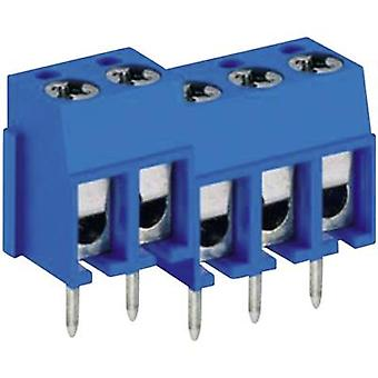 DECA MA522-500M03 Screw terminal 2.50 mm² Number of pins 3 Blue 1 pc(s)