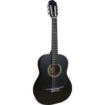 العزف علي الجيتار MI 36 B الغيتار الكلاسيكي 3/4 الأسود