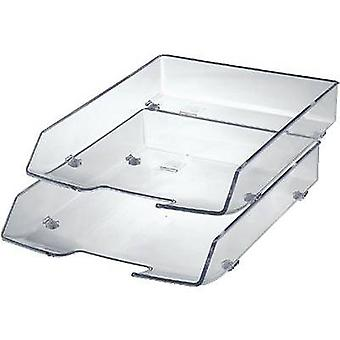 HAN 1028-23 WAVE EXCLUSIV Letter tray A4, C4 Transparent, Glassy 1 pc(s)