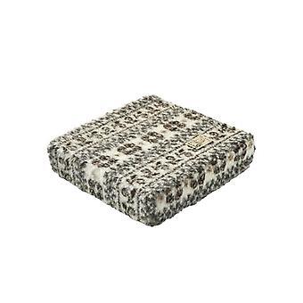 Booster seat kussen stand-up help beige bruin 40 x 40 x 10 cm