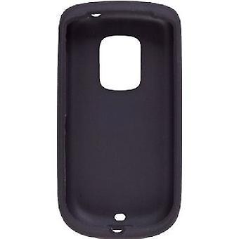 Silicone Gel Case for PCD ADR6200, HTC Hero (CDMA) - Black