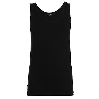 Full Circle Womens Scoop Vest Classic Fit Lightweight Sleeveless Round Neck Top