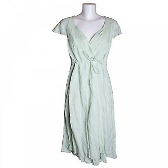 Tuzzi Cotton Dress With Drawstring Waist