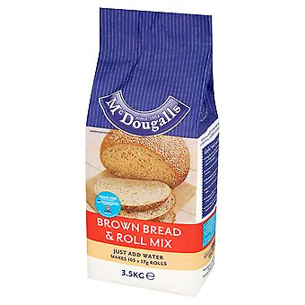 McDougalls Wholemeal Brown Bread & Roll Mix