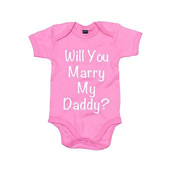 Se casará con mi papá rosa bebé crecer