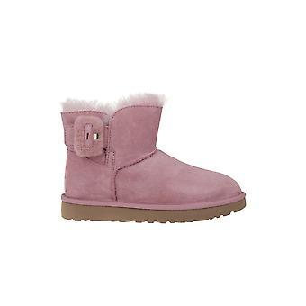 UGG Mini Bailey Fluff Buckle 1104182PDW universal winter women shoes