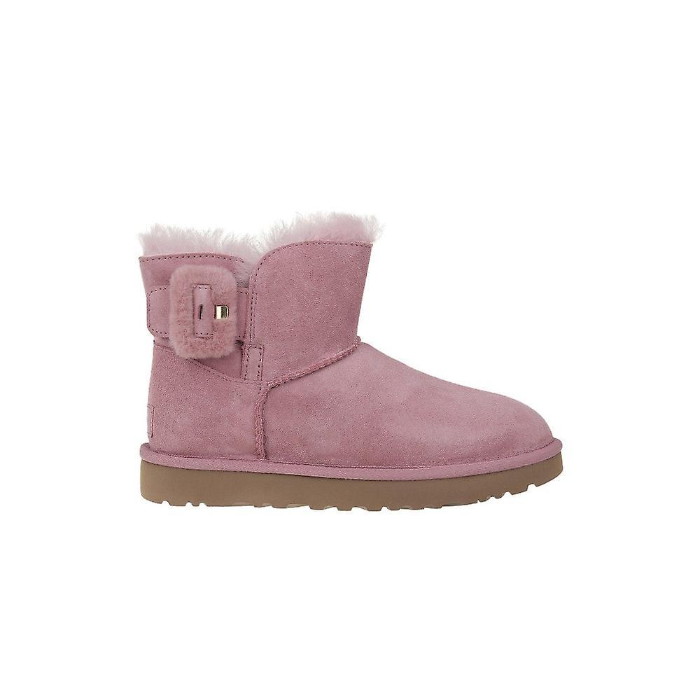 UGG Mini Bailey Fluff Buckle 1104182PDW universal winter women shoes kDO3w