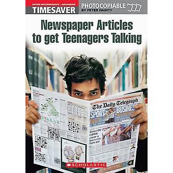 9781904 - 可憐なピーターによって話している 10 代の若者を得るために新聞記事
