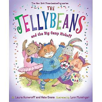 De Jellybeans en de grote kamp aftrap