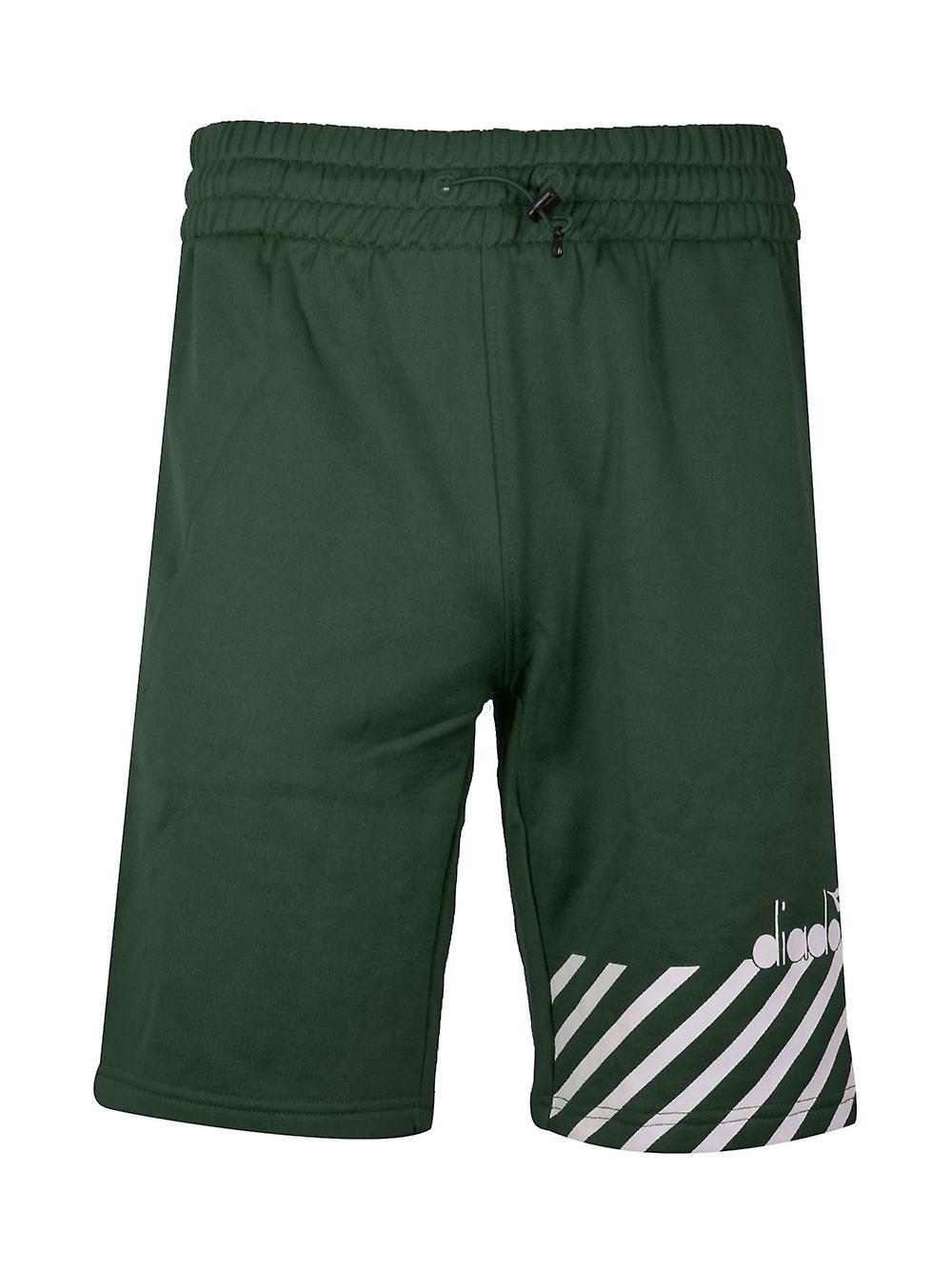 """DIESEL Mare Nuotare Spiaggia Pantaloncini Cintura Doppio nero verde piccola W 28/' 31/"""""""