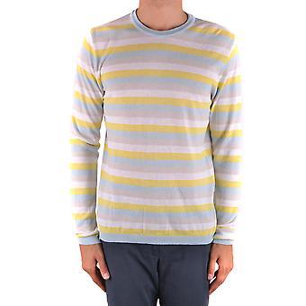Daniele Alessandrini Ezbc107092 Männer's Multicolor Baumwollpullover