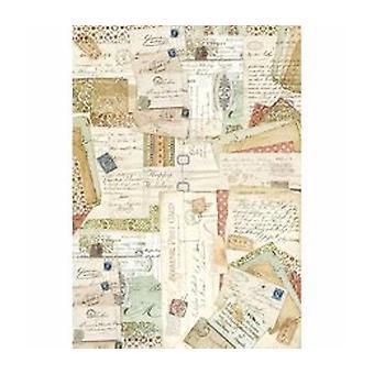 Stamperia Rice Paper A3 Postcards