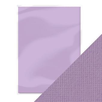Handwerk perfekte A4 Weben strukturierte Karte Mauve lila Tonic Studios