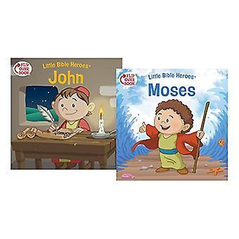 Moses/John Flip-Over Book by Victoria Kovacs - 9781462743391 Book