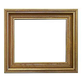 25x25 cm or 10x10 inch, gold Frame
