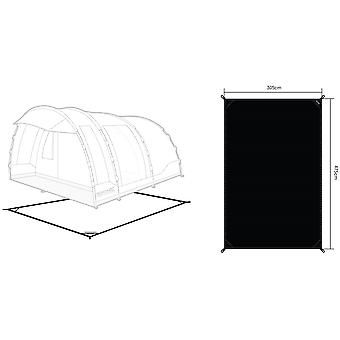Regatta Vanern 4 Tent Footprint Ground Sheet - Black