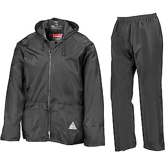 Result - Waterproof Mens Jacket And Trouser Set