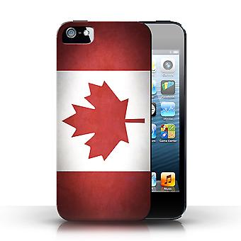 STUFF4 Case/Cover voor de Apple iPhone 5/5S/Canada/Canadese/vlaggen
