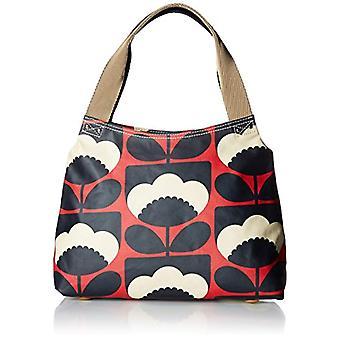 Orla Kiely Classic Zip Shoulder Bag Woman