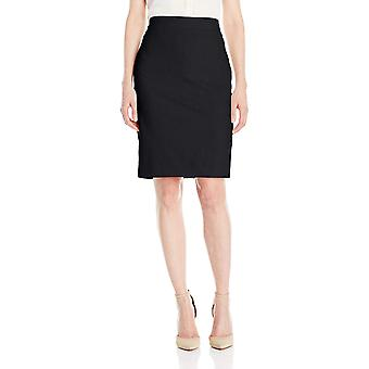 Jones New York Women's Washable Suiting Pencil Skirt, Black, 8, Black, Size 8.0