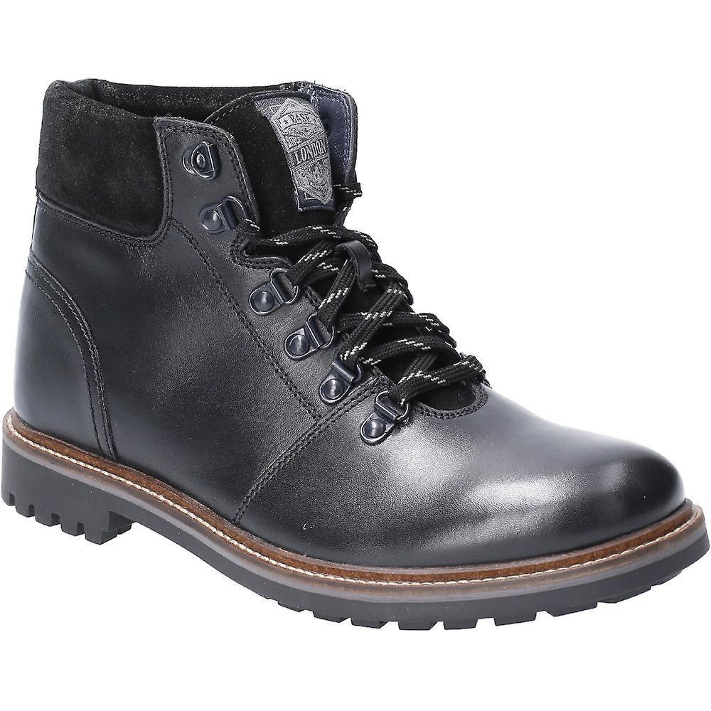 Base London Mens Fawn Burnished Leather