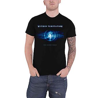 Within Temptation T Shirt The Silent Force Band Logo new Official Mens Black