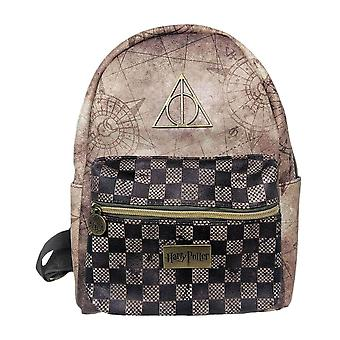 Harry Potter Deathly Hallows Fashion Backpack