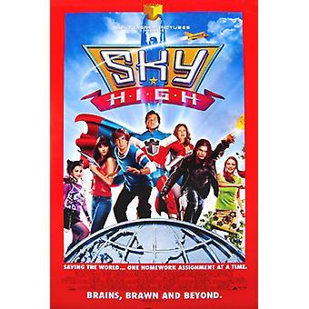 Poster original do cinema do céu elevado (dobro tomado o partido regular)