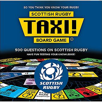 Taxi Board Gra Scottish Rugby