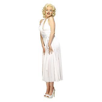 Womens Marilyn Monroe Fancy Dress kostuum
