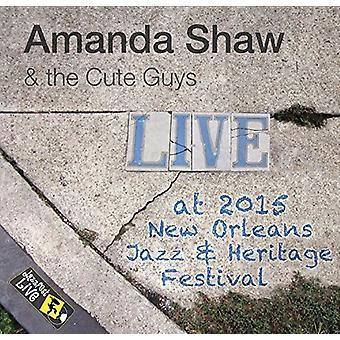 Amanda Shaw & the Cute Guys - Jazzfest 2015 [CD] USA import