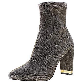 مايكل مايكل كورس النساء ماندي معدني الكاحل الأحذية الذهب 5.5 المتوسطة (B, M)