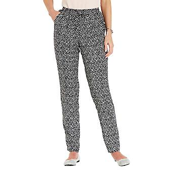 Amber Ladies Amber Viscose Print Trousers